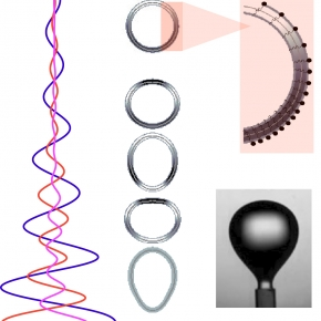 """<h3 style=""""text-align:left"""">La teneur en contaminants à la surface d'une goutte détectée à partir de ses oscillations </h3>"""